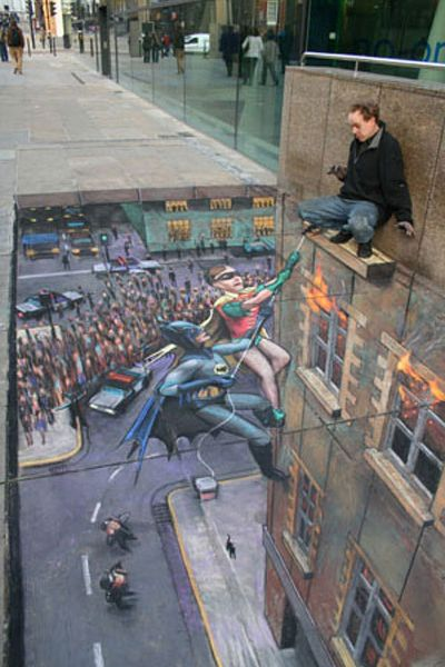 batman-chalk-pavement