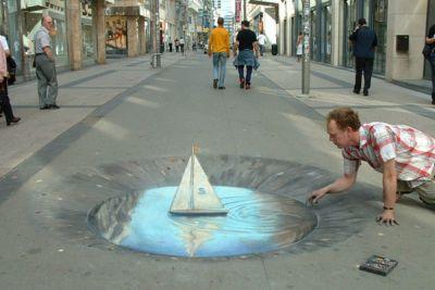sidewalk-boat