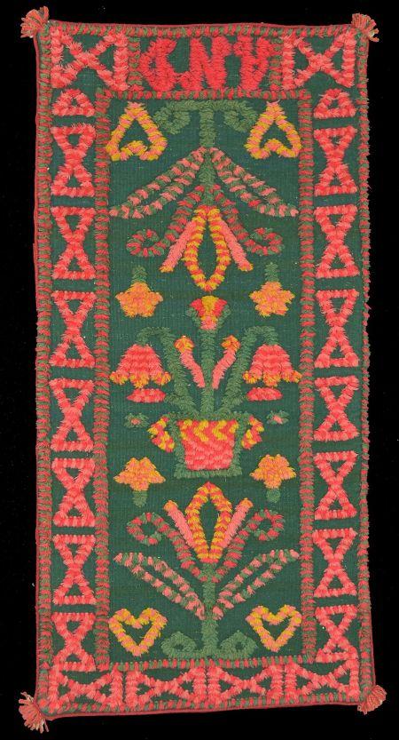 Trensaflossa green red vase WRS 1200